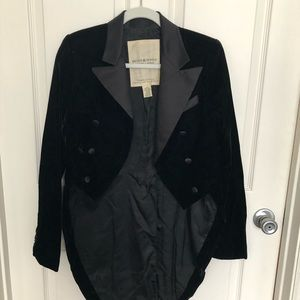 Formal tail jacket/blazer